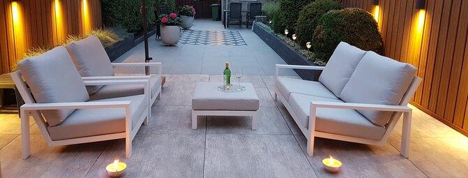 Moderne design tuin